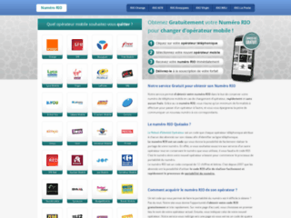 Détails : Code RIO : votre relevé d'identité opérateur gratuitement