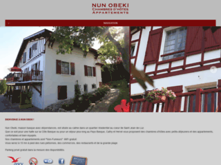 St. Jean de Luz Chambres d'Hotes, Bed and Breakfast, Appartements
