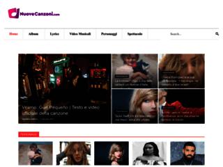 Nuove Canzoni - Il meglio delle Novità musicali - nuovecanzoni.com
