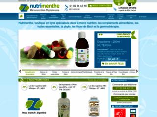 Parapharmacie en ligne: Phytothérapie, Micronutrition, Aromathérapie et Alimentation Santé - Nutrimenthe