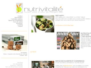 Nutrivitalite.fr: la cuisine énergétique