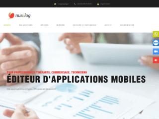 Capture du site http://nuxilog.fr