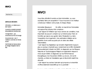 Nv conseil immobilier