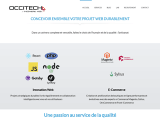 Occitech.fr, agence web à Toulouse