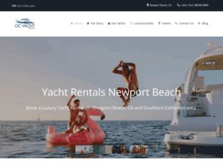 Newport Beach Private Yacht Rentals