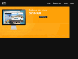Capture du site http://www.odis-solutions.fr