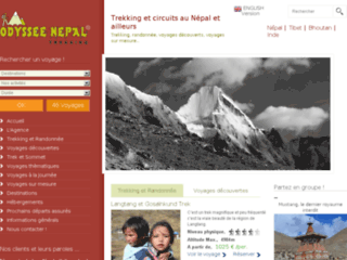 Odyssee Nepal Trekking