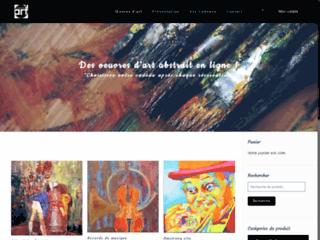 Oeuvre d'art : galerie d'art abstrait