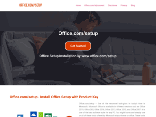Office.com/setup - Office Setup with Product Key - www.office.com/setup