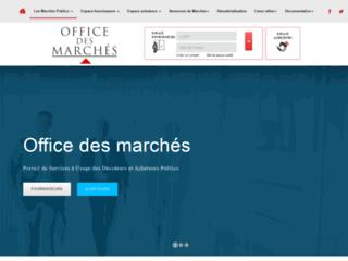 Office des marchés
