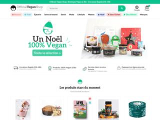 La nouvelle boutique en ligne Vegan et Bio - OfficialVeganShop.com