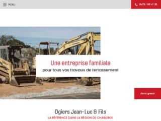 Terrassement et aménagement extérieur dans le Hainaut
