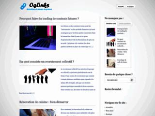 Aperçu du site Oglinks