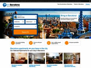 Capture du site http://www.oh-barcelona.com