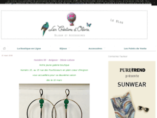 Les Créations d'Olivia - bijoux et accessoires