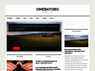 omebatobo.fr actualité marketing digital et numerique
