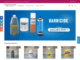 Salon & Professional Beauty Products | One Source Beauty
