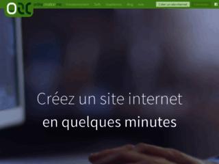 OnlineCreation.me pour créer un site internet en une heure pour 15 euros