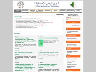 ONS:Office National des Statistiques de l'Alg�rie