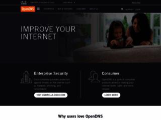 Info: Scheda e opinioni degli utenti : OpenDNS - Il DNS indipendente e gratuito - Indirizzo DNS free