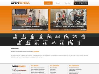 Boutique matériel fitness et musculation sur http://www.openfitness.fr