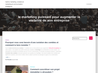 Détails : Conseils en marketing communication stratégique