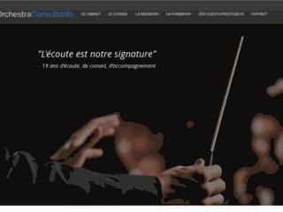 Capture du site http://www.orchestra-consultants.com/
