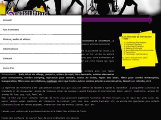 Capture du site http://www.orchestre-texto.com/