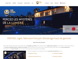 Site officiel Or Steel Light