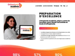 Détails : orthophonie-academie.fr