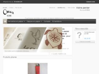 Détails : Serviettes et nappes en papier