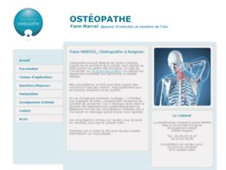 Ostéopathe en Avignon, Yann MARCEL sur http://www.osteopathe-avignon.fr
