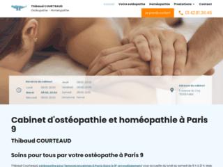 Cabinet d'ostéopathie à Paris 9
