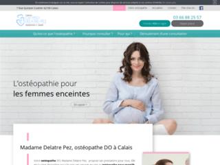 Madame Delatre Pez, ostéopathe DO à Calais
