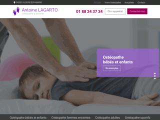 Ostéopathe à domicile à Villiers-sur-Marne