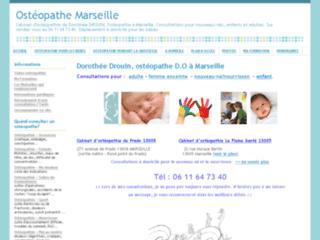 Ostéopathe Marseille sur http://www.osteopathe-marseille.net/