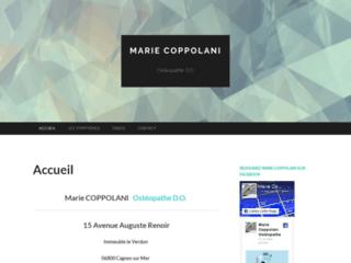 Site officiel de osteopathe Cagnes-sur-Mer