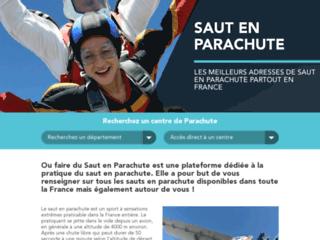 Où faire du saut en parachute