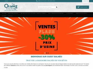 Détails :  Ouest-Balnéo salle de bain de luxe à bon prix