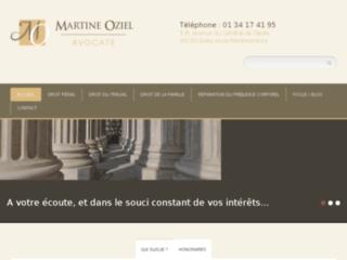 Martine Oziel, avocat en droit social et droit de la famille