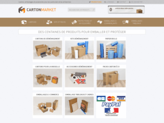 Packmalin  : Cartons de déménagement