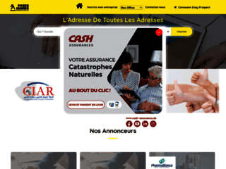 Annuaire Pages Jaunes Algérie / Algeria Yellow Pages Directory : Page d'accueil / Home Page