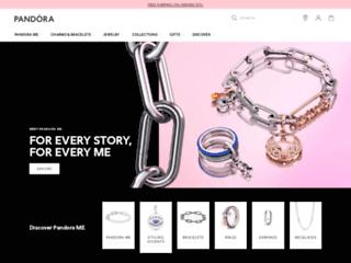 Capture du site http://www.pandora.net/fr-fr