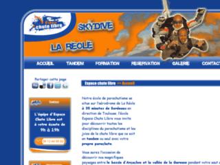 Parachutisme en Aquitaine