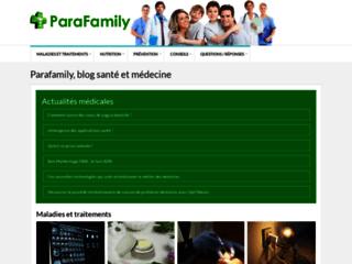 Vente en ligne de produits de parapharmacie sur http://www.parafamily.fr