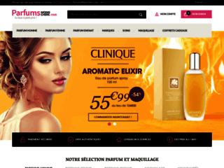 Parfums moins chers pour homme et femme