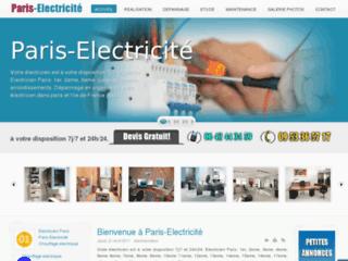 Artisan electricien sur Paris