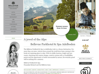 Hôtel Spa à Adelboden.