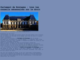 Le Parlement de Bretagne - Actualité