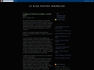 Blog Passion Immobilier